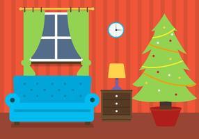 Gratis Kerst Vector Kamer