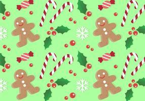 Gratis Kerstpatroon Achtergrond vector