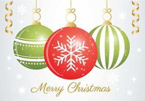 Vector Kerst Ornament Achtergrond