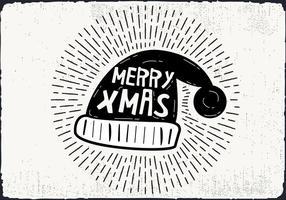Gratis Kerstmuts Vector