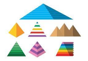 Pyramide vector