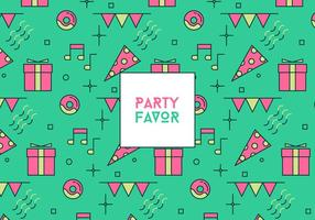 Party Favor Achtergrond vector