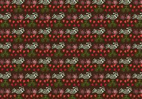 Hand getekend schattig patroon Gratis Vector