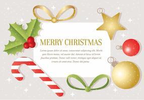 Gratis Vector Kerst Achtergrond