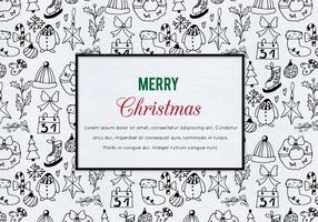 Gratis Vector Kerst Illustratie