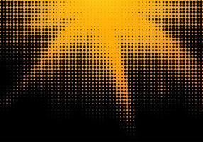 gele en zwarte halftone textuur