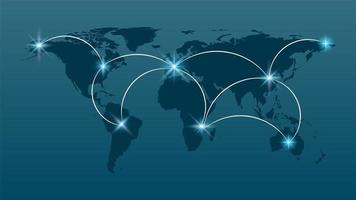 internet en wereldwijd verbindingsconcept vector