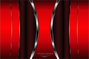 rode en zilveren textuur met gloedlicht