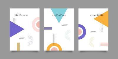 retro geometrisch voor covers