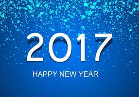 Gratis Vector Nieuwjaar 2017 Achtergrond