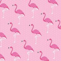 prachtige flamingo's vogels flock patroon