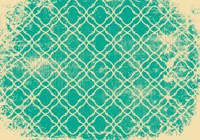 Retro Grunge Patroon Achtergrond vector