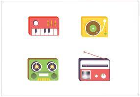 Muziek Vector Pictogrammen