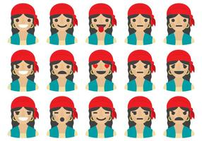 Gipsy vrouw emoticons