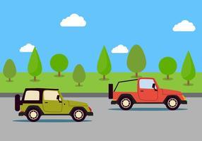 Jeepney vector illustratie
