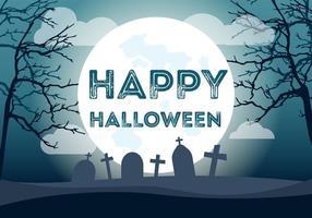 Gelukkige Halloween Illustratie vector