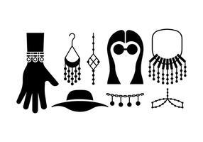 Boheemse / zigeuners accessoires