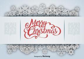 Sneeuwvlok Winter Vector Decoratie