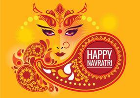 Creatieve Vector Durga Puja Achtergrond