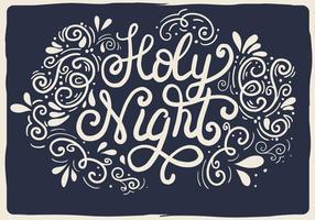 Gratis Kerst Vector Typografie