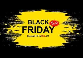 zwarte vrijdag vakantie verkoop voor grunge banner achtergrond