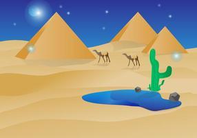 Gratis Piramide Vector Illustratie