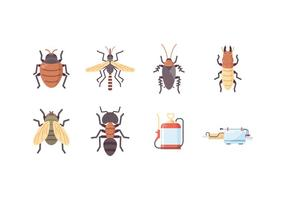 Gratis Pest Control Icons vector
