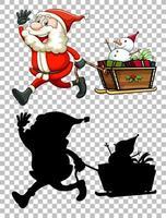 Kerstman tekenset