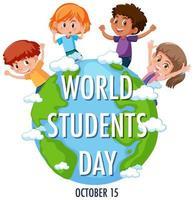 wereld student dag banner