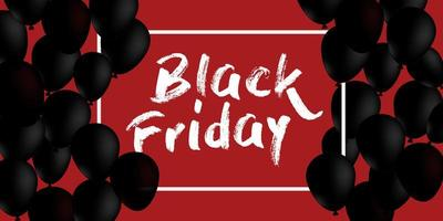 zwarte vrijdag verkoop bannerontwerp
