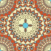 creatieve naadloze mandala achtergrond vector