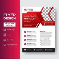 sjabloonontwerp voor brochure vector