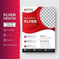zakelijke brochure flyer vector