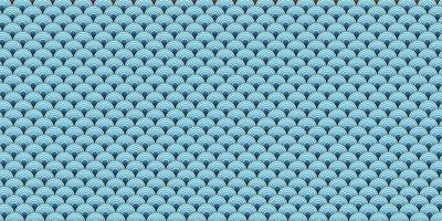 papier kunst van zee oceaan golf met naadloze patroon
