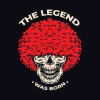 de legende schedel