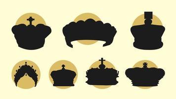 Britse Kroon Gratis Vector