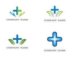 gezondheid logo afbeelding vector