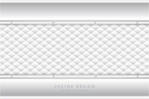 grijze metallic achtergrond met witte bekleding