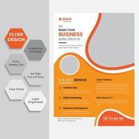 jaarverslag sjabloon folder bedrijfspresentatie vector