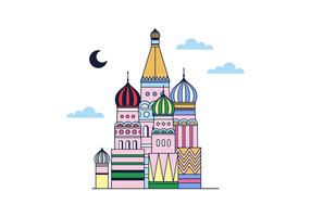 Gratis Moskou Vector