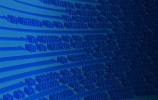 blauwe cyber circuit toekomstige technische achtergrond