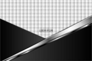 luxe zwarte en grijze metallic achtergrond met zilver glanzend.