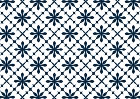 abstract bloementegels patroon