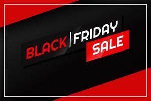 zwarte vrijdag tekstontwerp en productkorting vector