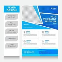 zakelijke flyer poster pamflet brochure omslag vector