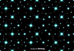 Vector blauwe sterren NAADLOZE PATROON