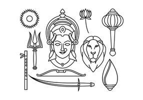 Gratis Durga Vectro