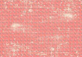 Grunge Polka Dot Achtergrond vector