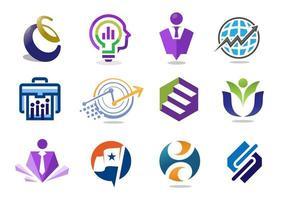 zakelijke marketing icoon collectie