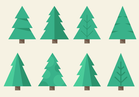 Gratis Kerstboom Vector